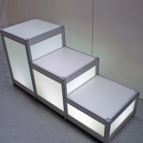 2. Display met verlichting - Expo-standbouw.nl Modulaire Standbouw